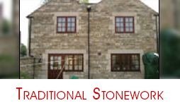 Two Storey House - Dry Stone Walling in Corsham, Wiltshire